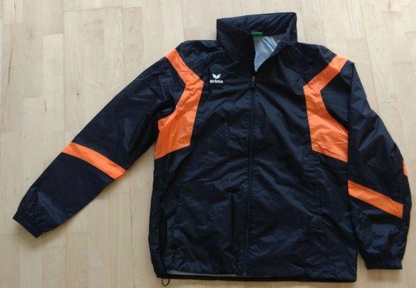 Erima Classic Team Regenjacke schwarz-orange