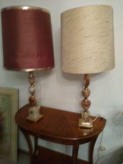 2 schöne Standlampen mit Quarzfuss