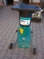 Elektrischer Gartenhäcksler Bibermax 180 e