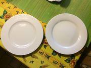 Speiseteller weiß 26 5 cm