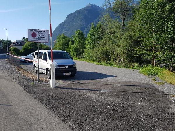 Parkplätze im Zentrum zu vermieten