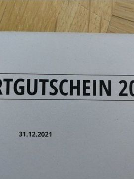Tickets / Eintrittskarten - 200 Euro Erlebnisgutschein von Jochen