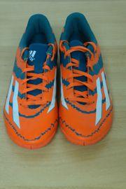 Fußballschuhe Hallenschuhe Adidas orange grün -