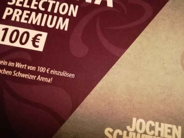 100 EUR-Erlebnis-Gutschein für Jochen Schweizer