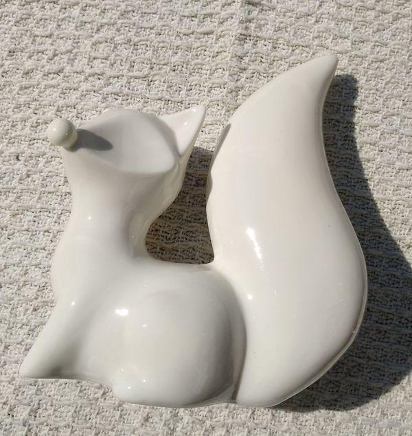 Fuchs - Deko 2 Stück Keramik
