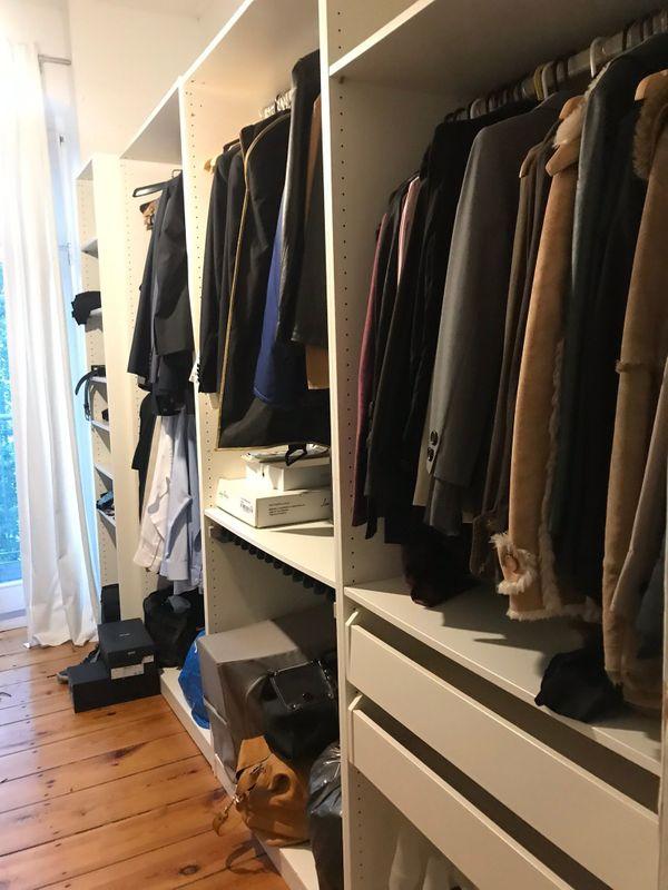 VICCO begehbarer Kleiderschrank VISIT XL offen begehbar ...