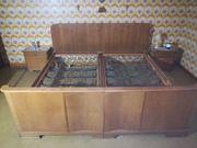 1 Schlafzimmer komplett Holz gebraucht