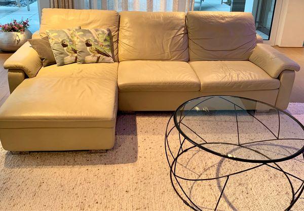 Schöne Leder Couch Von W Schilling Zu Verkaufen In Waghäusel
