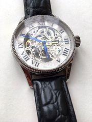 Automatik Skelett Armbanduhr für Herren