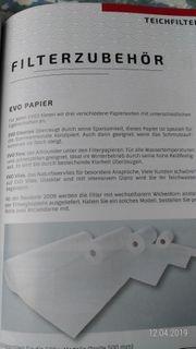 1 Rolle Teichfiltervlies 500mm Breit