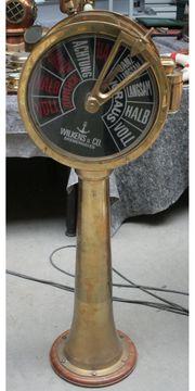 Maschinentelegraph Wilkens Co mit Repeater