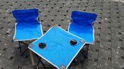 Kindersitzgruppe Klappbar blau