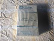 43x Original Peugeot Werkstatt Unterweisungs