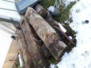 Holzschwellen für Garten kostenlos abzugeben