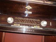 Lumophon Kommode mit Radio Garagenfund