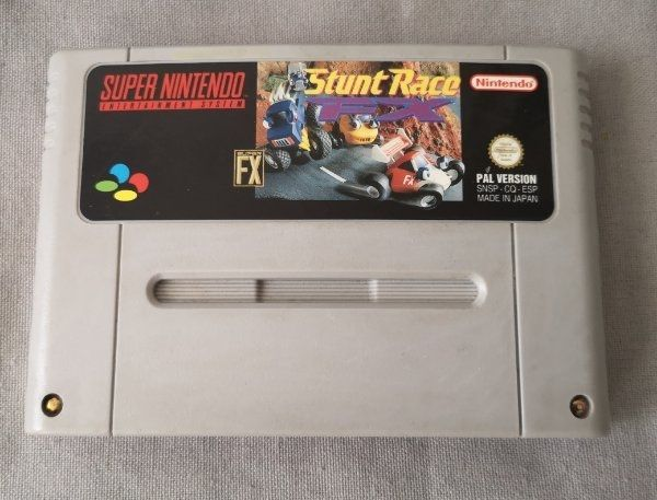 Stunt Race FX SNES Super