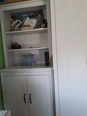Ikea Hochschrank Brusali weiß