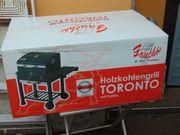 Holzkohlegrill Toronto Neu noch orginal