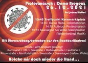 Demo Bregenz 26 10 2021