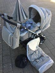 Teutonia Kombi-Kinderwagen Fun System