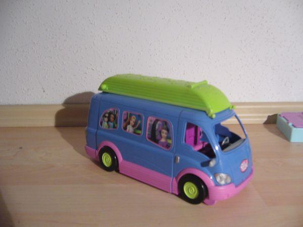 Polly Pocket Mattel - Tourbus und
