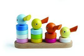 Holzspielzeug - Entenparade - Bauklötze Holz