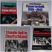 2 Weltkrieg WK2 Bücher Set