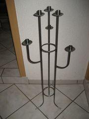 neuwertiger Kerzenständer 6-flammig Ständer für