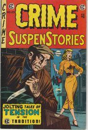 Crime SuspenStories No 25 1974