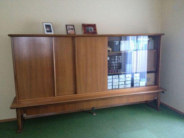 Schrank Wohnzimmerschrank Wohnwand Ende 40iger Jahre ...