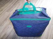 Tuppertasche Groß Blau Mit Schlüssel