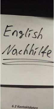 English Nachhilfe in Trier