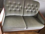 Sofa Couch und 2 Stühle