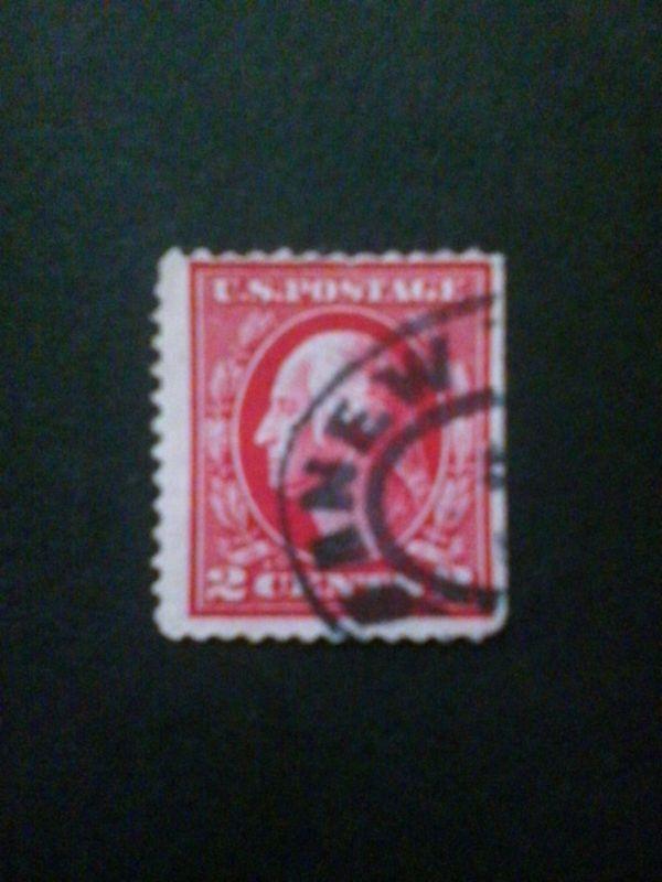 USA Briefmarke 2 Cent George