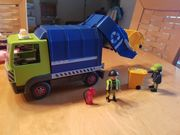 Playmobil Mülllaster Müllwagen VOLLSTÄNDIG