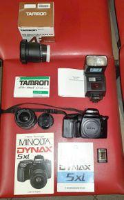Fotoapparat Minolta Typ DYNAX 5X