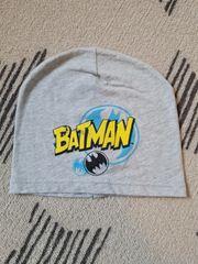 Batman Mütze grau