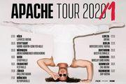 Apache 207 Konzertkarte Mannheim
