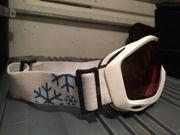 Skibrille passend zu Skihelm mit
