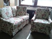 2 Sitzer-Couch Sessel Couchgarnitur Couch