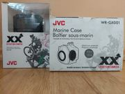 Helmkamera JVC GC-XA1 mit Unterwassergehäuse