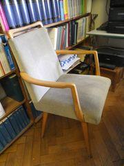 gepolsterter Armlehnstuhl 1963 zeitloses Design