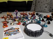 Wii Skylanders Giants Figuren plus