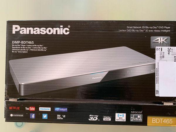 Panasonic DMP-BDT465 Blue-Ray-Player 3 D