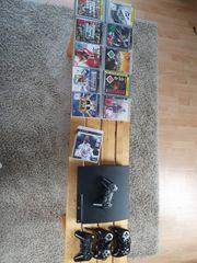 Playstation 3 inkl 16 Spiele