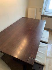 Tisch aus Massivholz 160 cm