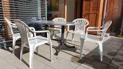 Gartenmöbel Komplettset gut preiswert Tisch