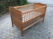 Kinderzimmermöbel Echtholz Wickelkommode Kinderbett Babybett