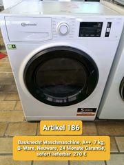 Bauknecht Waschmaschine A 7 kg