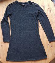 Wunderschönes schwarzes Kleid Gr 38